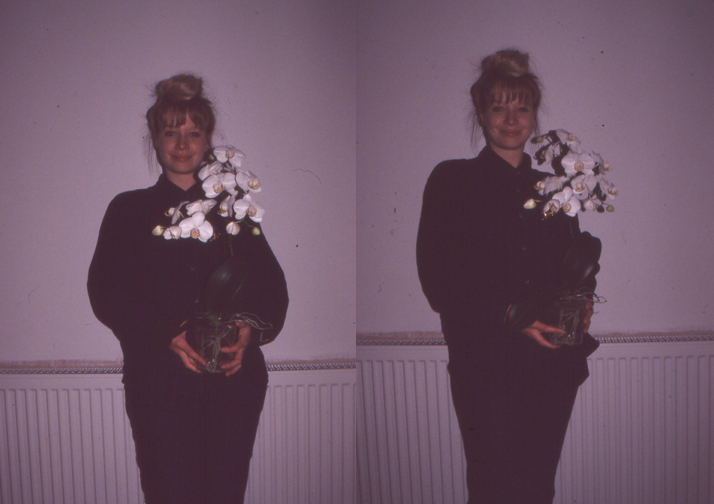 Selfportraitwithorchids