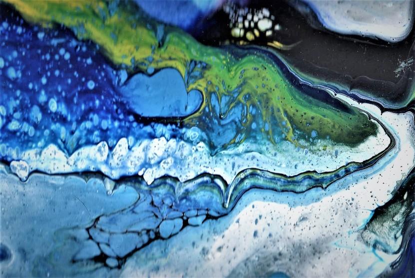 Acrylic Pour 2